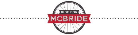 Ride for McBride logo